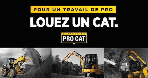 Partenaire PRO CAT